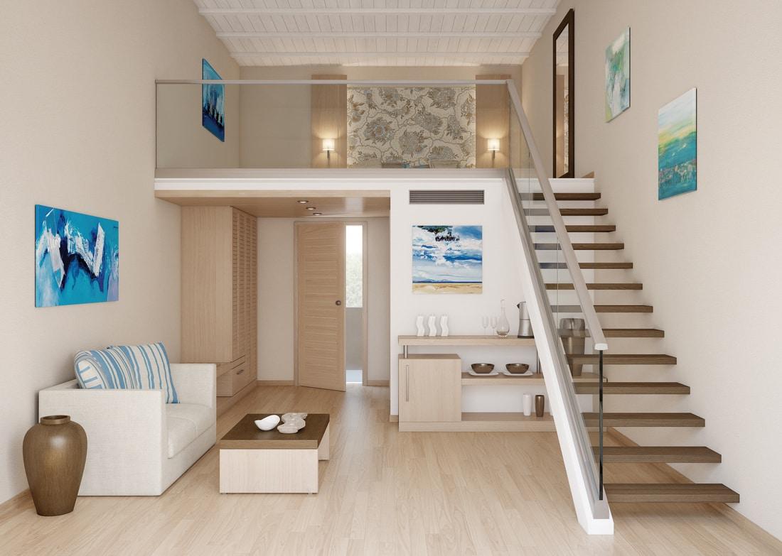 les avantages du garde corps en verre. Black Bedroom Furniture Sets. Home Design Ideas