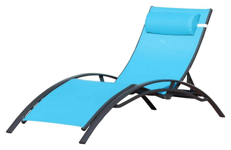 Le r ve du jardin meubl accessible tous for Chaises longues confortables