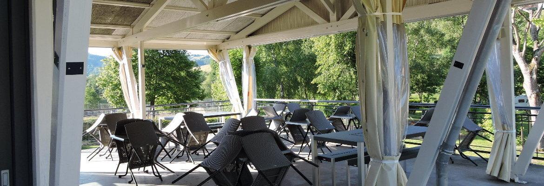 Le pvc le meilleur alli des vacances en plein air - Bache restaurant terras ...