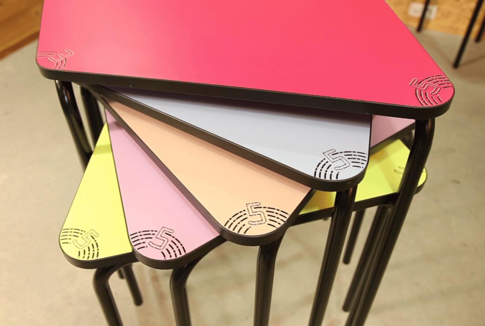 table modulable pour un enseignement dynamique. Black Bedroom Furniture Sets. Home Design Ideas
