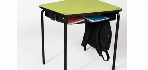 Table scolaire 3.4.5, modulable et design