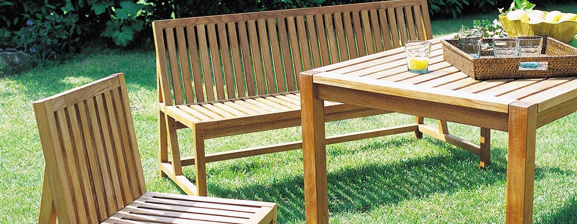 Meuble De Jardin En Bois - Meubles en bois pour mon jardin, bonne idée ? PEPSeo