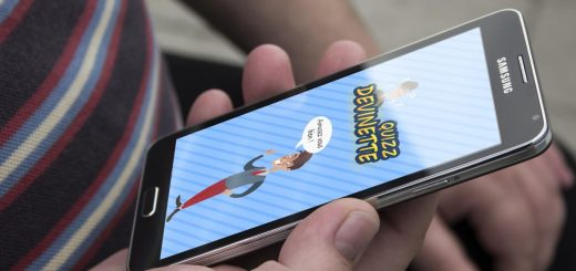 Quiz sur smartphone