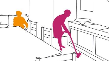 L'aide à domicile un engagement journalier
