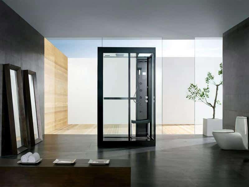 Des cabines de douche très design
