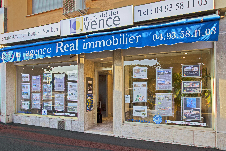 Agence immobilière à Vence avec Real Immobilier