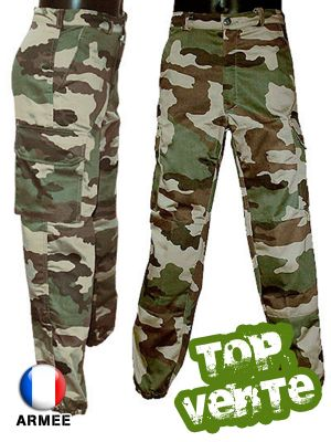 Qu'est-ce qu'un pantalon militaire F2?