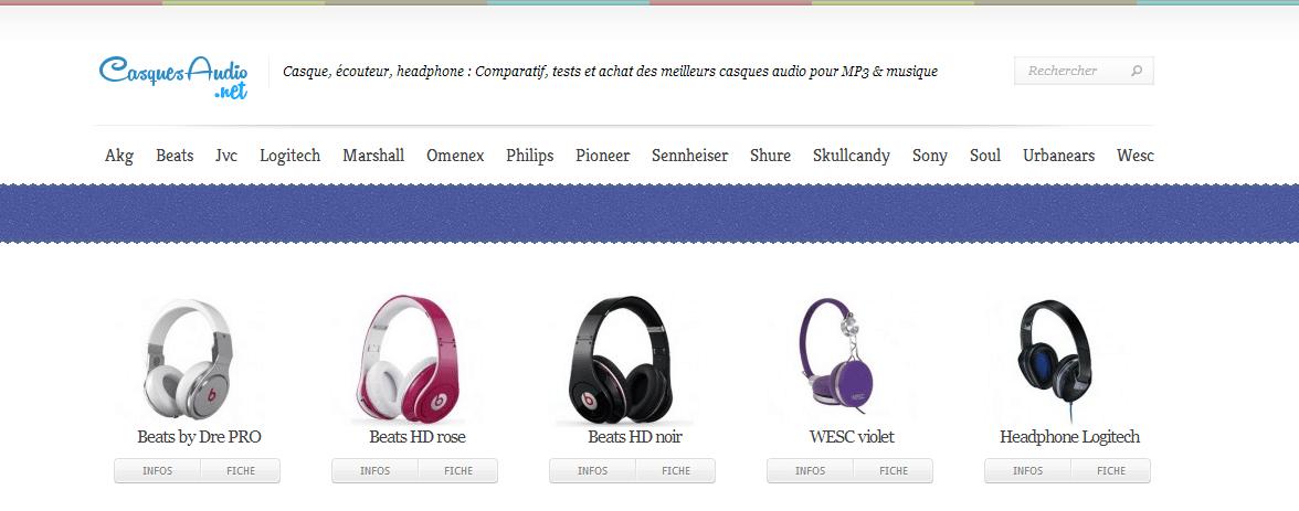 Acheter et choisir un bon casque audio.