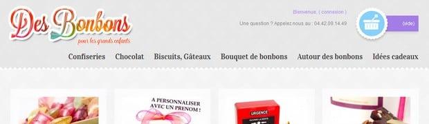 Des friandises à gogo sur Des-Bonbons.com