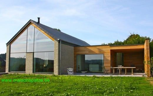 Luxembourg : un exemple de maison basse énergie type