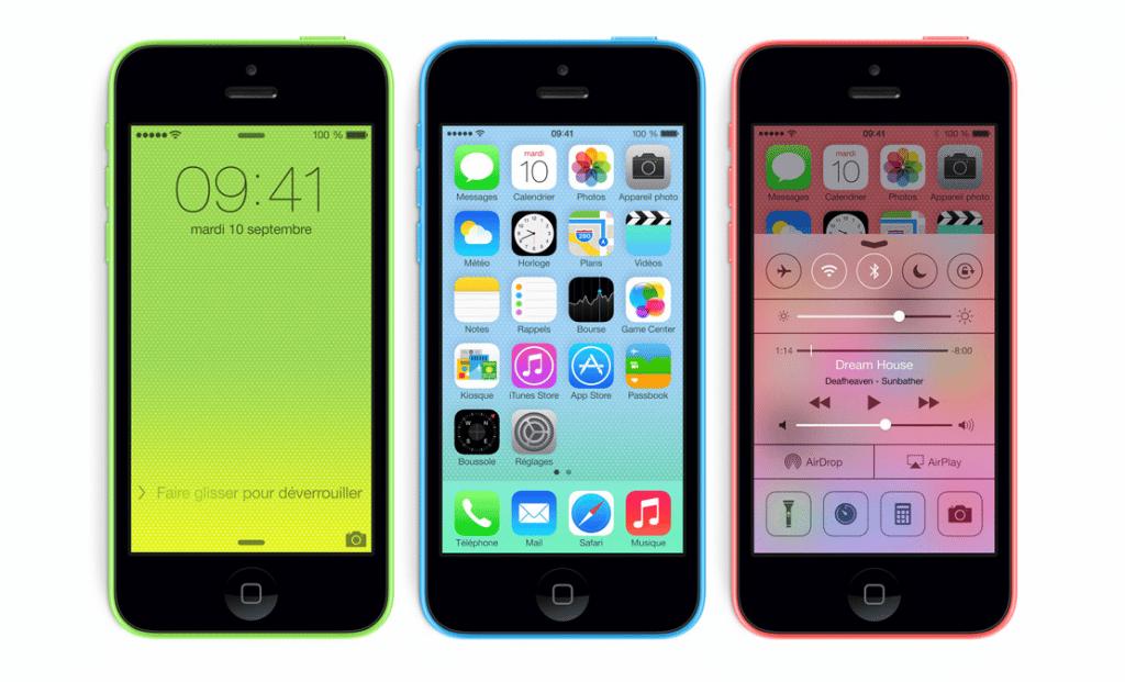 L'iPhone 5C, le faux Smartphone Apple low cost ?