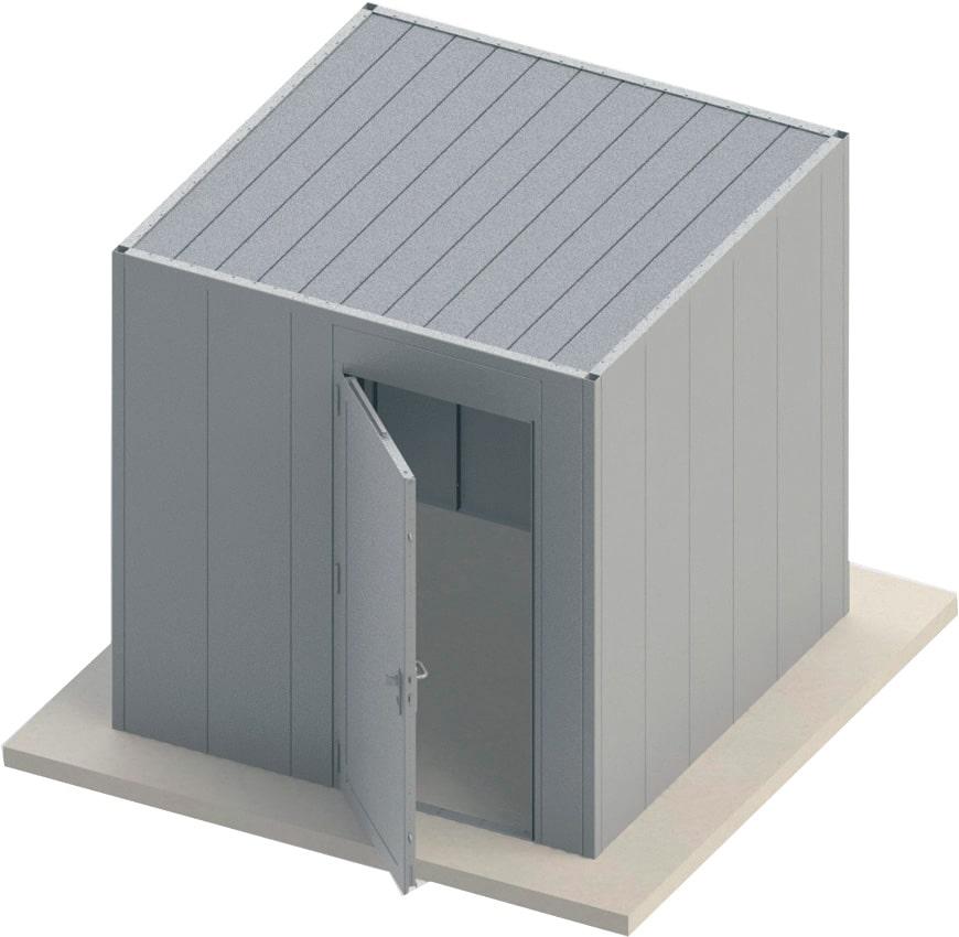 Sécurisez vos bâtiments avec un local modulaire blindé