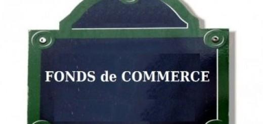 Panneau fonds de commerce