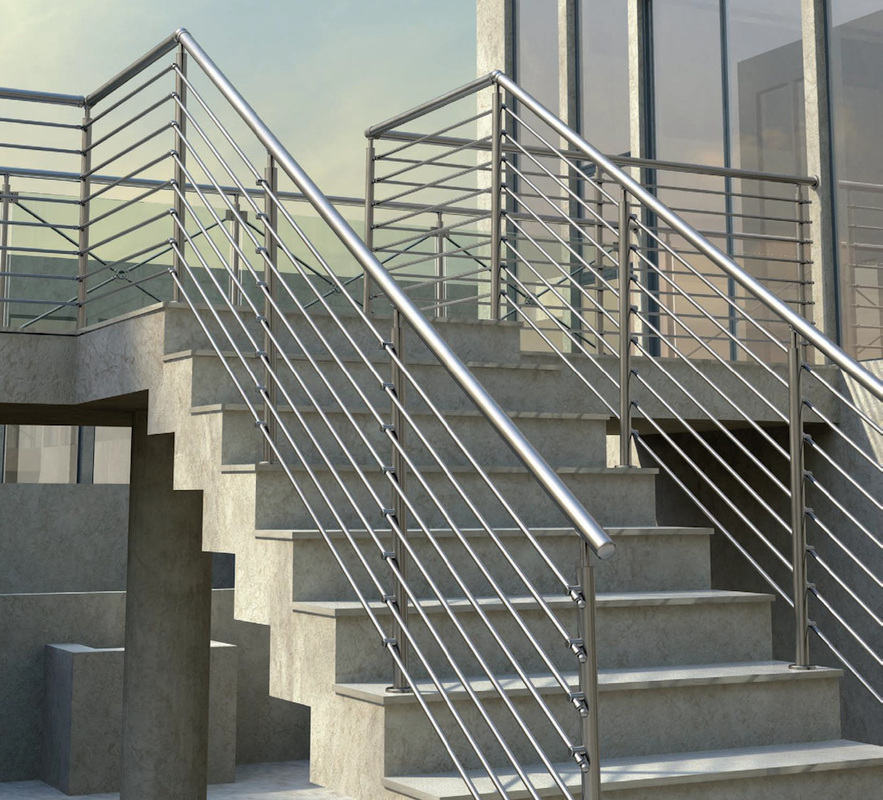 Un garde corps pour s curiser son habitation - Vallas para escaleras ...