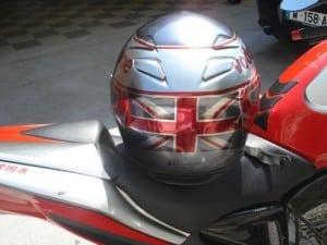casque moto assorti