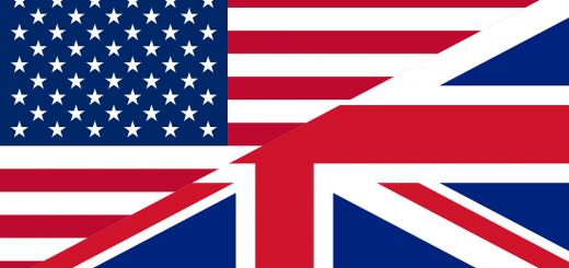 Drapeau UK-US