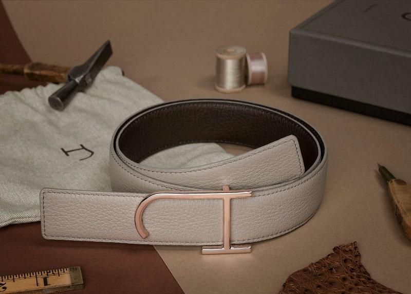 Offrez-vous le luxe d'une ceinture en cuir unique
