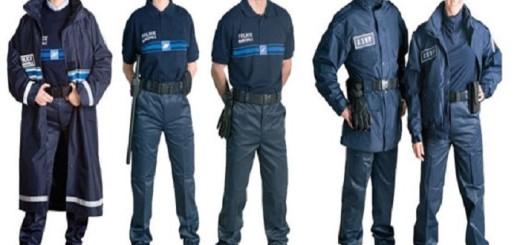 uniforme agent de sécurité