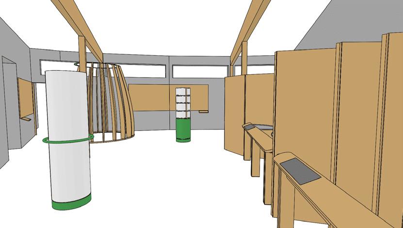 museographie espace royans vercors vue 3D 1 assemblages