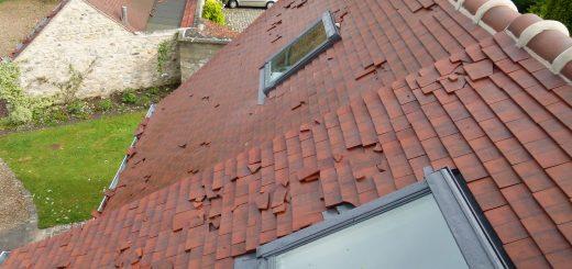 L'orage : l'ennemi de vos toitures