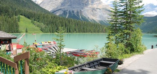 Mountains Water Canada Emerald Lake
