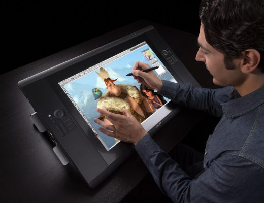 Le dessin sur une tablette graphique