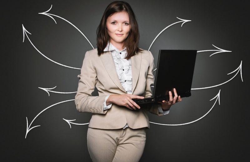 Une femme en reconversion professionnelle