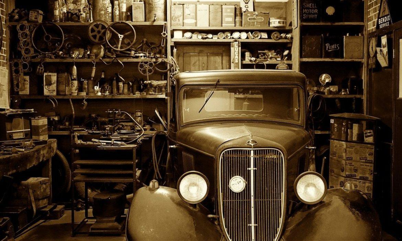 Un garage pas comme les autres