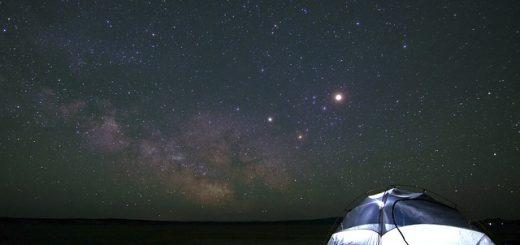 camping à la belle étoile