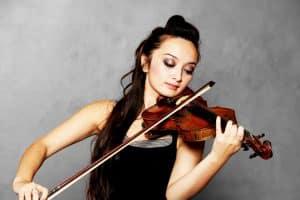 Violoniste en train de jouer