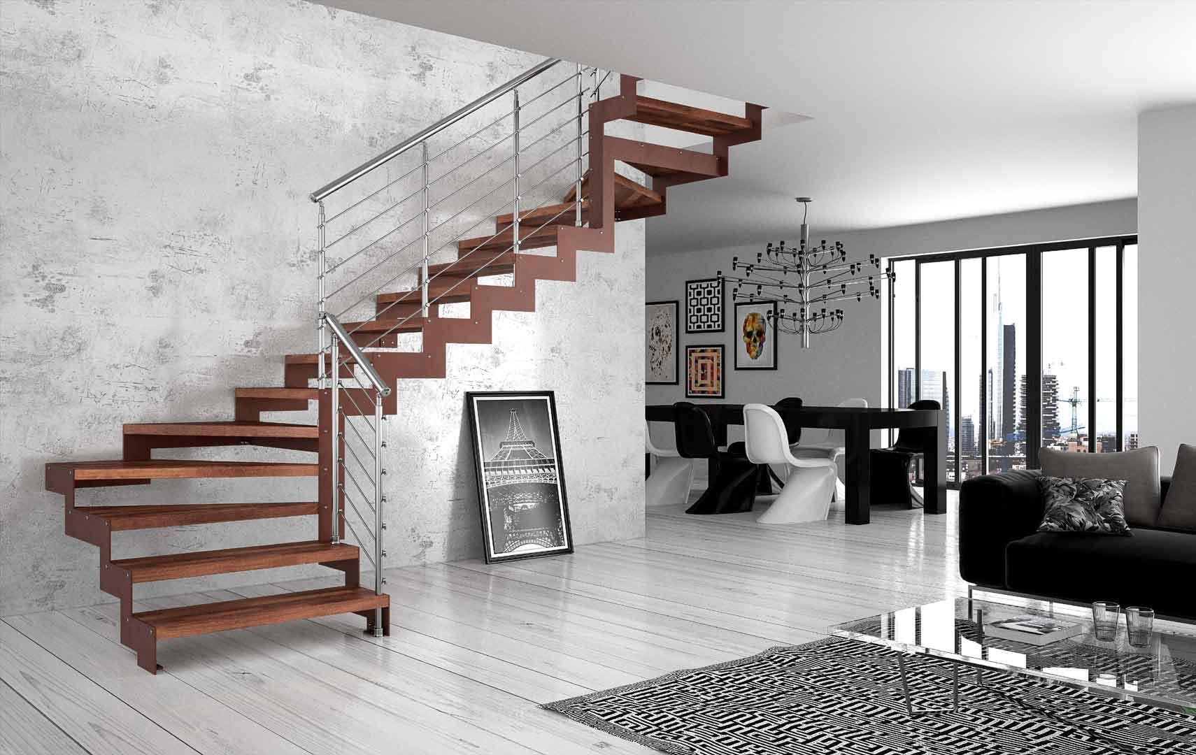 Aménager sa maison avec le bon type d'escalier : ce qu'il faut savoir