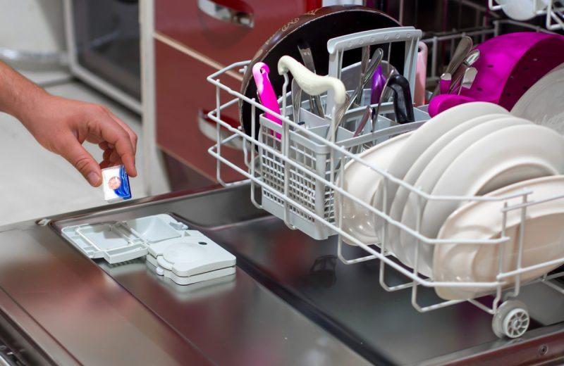 Où mettre la capsule dans le Lave-vaisselle?