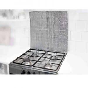 Isolation de cuisinière à gaz avec une plaque isolante