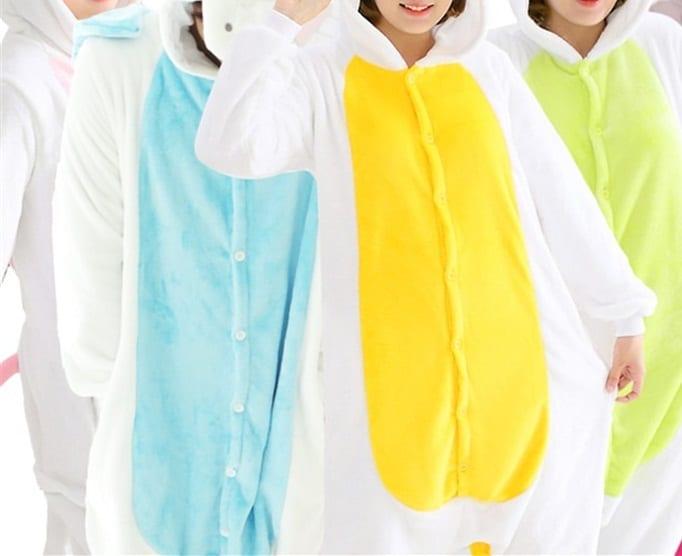 Pyjama licorne: le nouvel accessoire de mode fun très tendance au japon