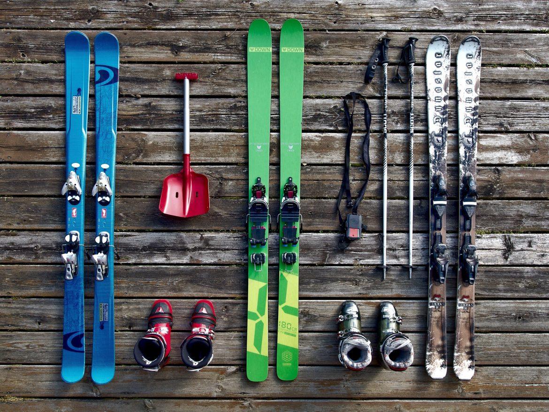 affaires de ski