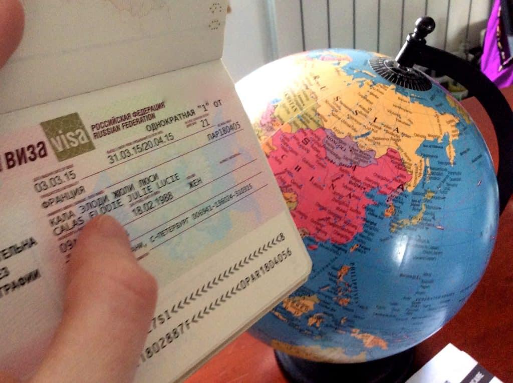 L'attestation d'assurance du visa russe